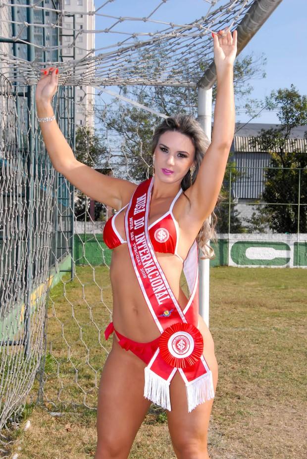 Fernanda Pankowski, Musa do Internacional (Foto: J. Domingos)